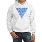Serene Triangle Knot Hooded Sweatshirt