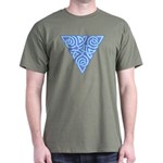 Serene Triangle Knot Dark T-Shirt
