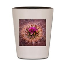 Cactus Flower Shot Glass