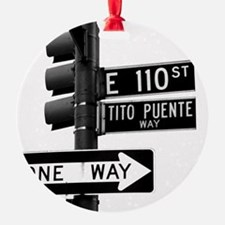 Tito Puente Mambo King NYC, NY Ornament