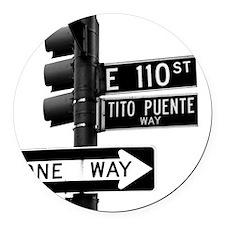 Tito Puente Mambo King NYC, NY Round Car Magnet