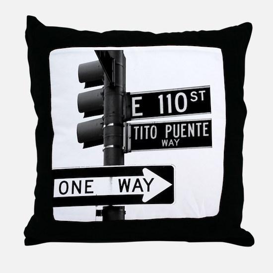 Tito Puente Mambo King NYC, NY Throw Pillow