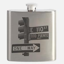 Tito Puente Mambo King NYC, NY Flask