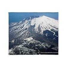 Mt. Saint Helens Throw Blanket