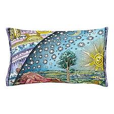 Celestial mechanics, medieval artwork Pillow Case