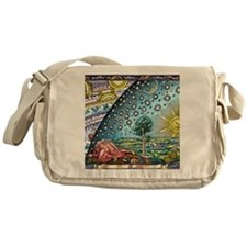 Celestial mechanics, medieval artwor Messenger Bag