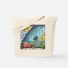 Celestial mechanics, medieval artwork Tote Bag