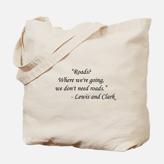 Back To The Future - Lewis and Clark Tote Bag