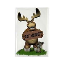 Got Moose 2 Rectangle Magnet