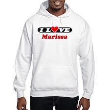 I Love Marissa Hoodie Sweatshirt