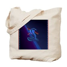 Jewel Heart Jewel Year Of The Snake-lette Tote Bag