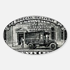 1925 United States Special Delivery Sticker (Oval)