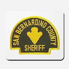 San Bernardino Sheriff Mousepad