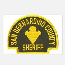 San Bernardino Sheriff Postcards (Package of 8)