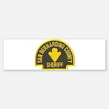 San Bernardino Sheriff Bumper Bumper Bumper Sticker