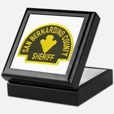 San Bernardino Sheriff Keepsake Box