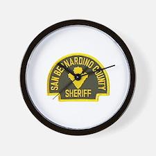 San Bernardino Sheriff Wall Clock