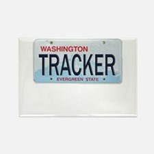 Washington Tracker Rectangle Magnet
