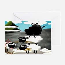 Black Sheep Greeting Card