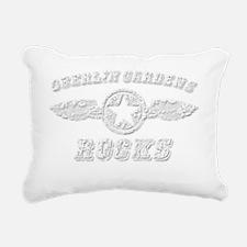 OBERLIN GARDENS ROCKS Rectangular Canvas Pillow