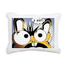I did?! Rectangular Canvas Pillow