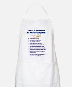 Fastpitch Top 10 BBQ Apron