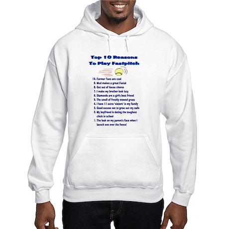 Fastpitch Top 10 Hooded Sweatshirt