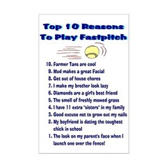 Fastpitch Top 10 Posters