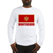 Montenegro Flag Long Sleeve T-Shirt