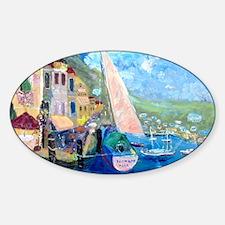 Aegean harbor calendar Decal