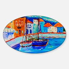Chios Harbor Calendar Decal