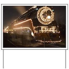 Holiday Train 1.08 Yard Sign