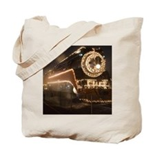 Holiday Train 1.08 Tote Bag
