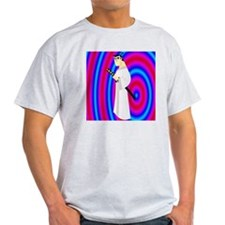 samurai jack red blue hypnosis 2 T-Shirt