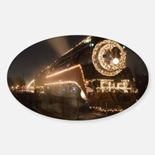 Holiday Steam Engine Decal