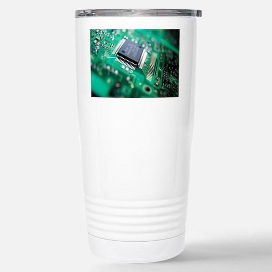 Circuit board Stainless Steel Travel Mug