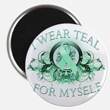 I Wear Teal for Myself Magnet