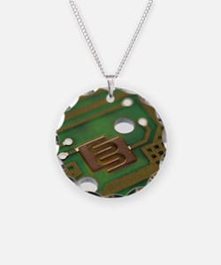 Circuit board Necklace