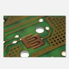 Circuit board Postcards (Package of 8)