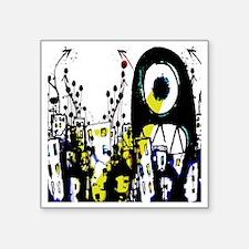 "cyclops Square Sticker 3"" x 3"""