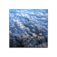 "Blanket Clouds Square Sticker 3"" x 3"""