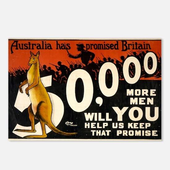 australia has promised britain 50000 more men - an