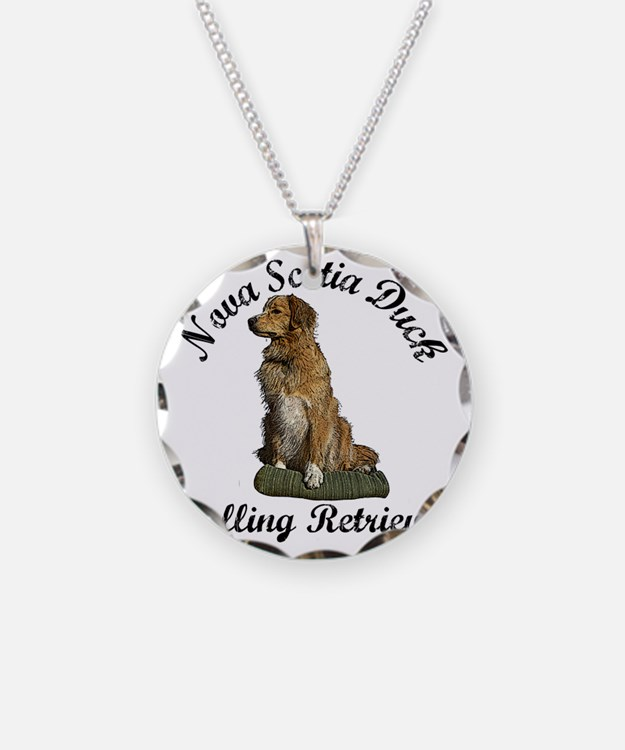 toller Necklace Circle Charm