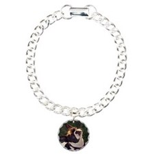 White Boston Terrier Bracelet
