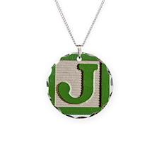 J Monogram Necklace