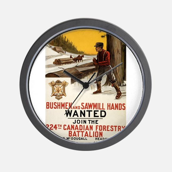 bushmen and sawmill hands wanted join the 224th ca