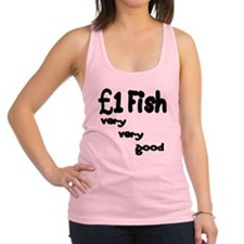 one pound fish Racerback Tank Top