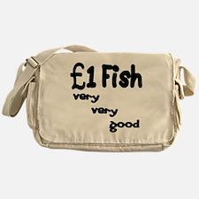 one pound fish Messenger Bag