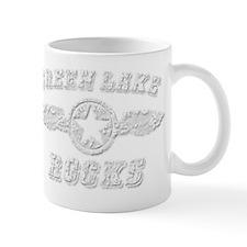 GREEN LAKE ROCKS Mug