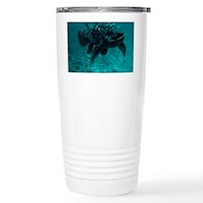 Coelacanth fish Travel Mug